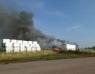 Storbrand i industriområdet