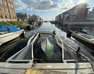Mindre fritidsbåt sjönk i Kassakroken.
