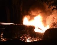 Bilbrand på Silvergården