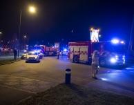 Trafikolycka i rondellen Havsbris