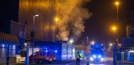 Brand på Kraftvärmeverket
