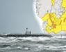Stormvarning över Skåne