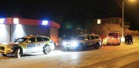 Polisinsats i Häljarp