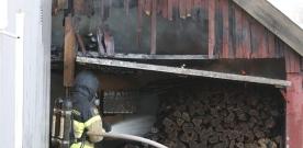 Brand i Marieholm