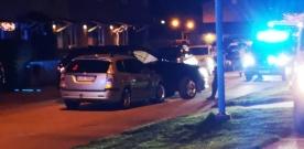 Trafikolycka vid Sandvången