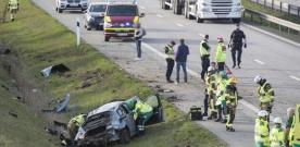 Döms till fängelse efter trafikolycka