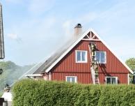 Villabrand vid Halmstadby