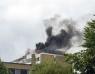 BILDSPECIAL: Vindsbrand på Silvergården