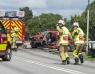 En död efter allvarlig trafikolycka
