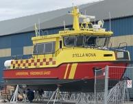 Räddningsbåten Stella Nova är ur drift