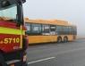Trafikolycka mellan buss och lastbil på väg 17
