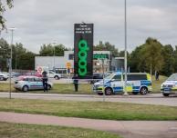 Trafikolycka på Segergatan – man död