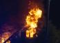 Person omkom efter kraftig villabrand