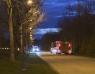 Misstänkt brand på Koppargården