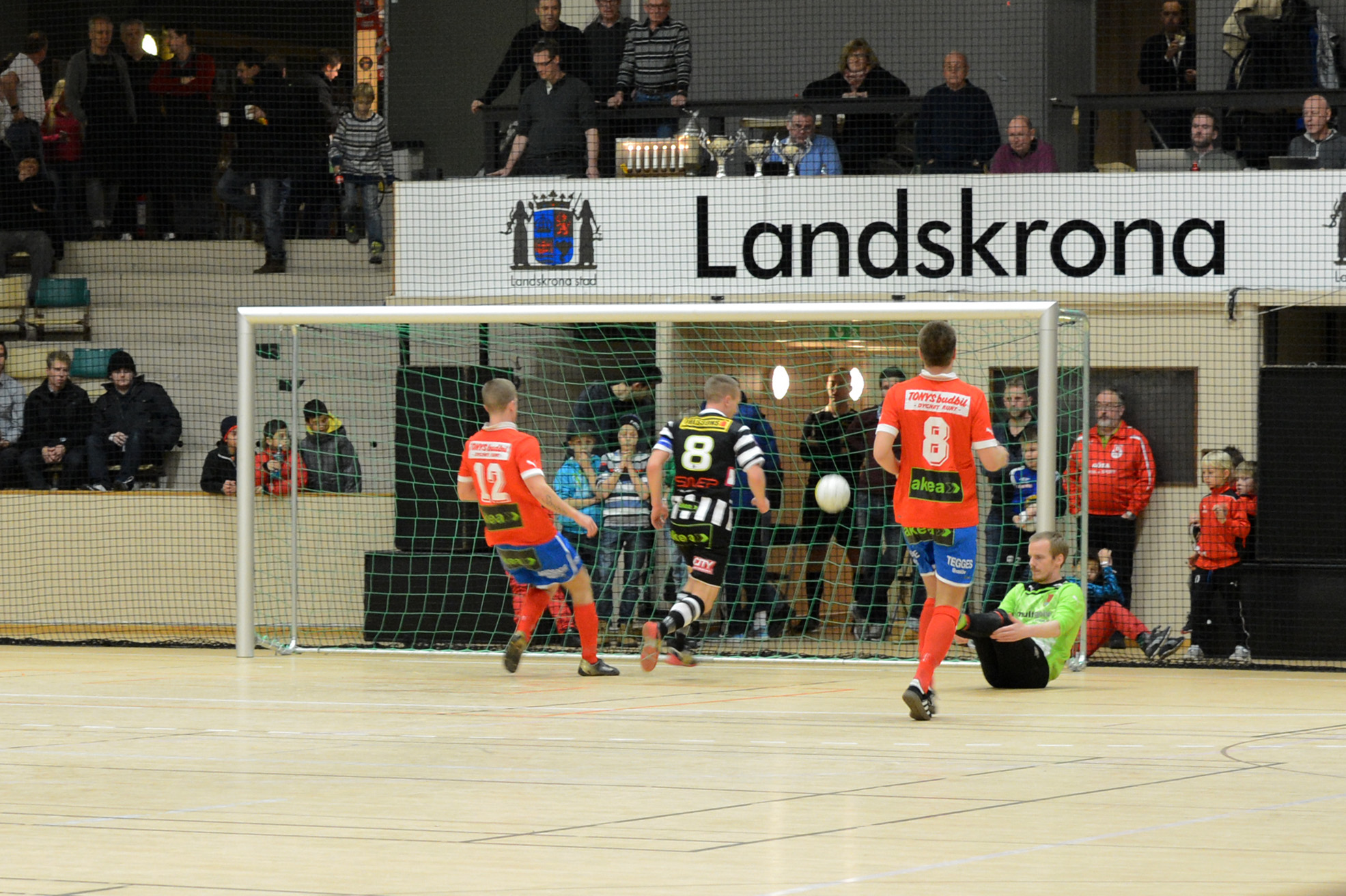 Slutresultatet blev 5-0 till BoIS