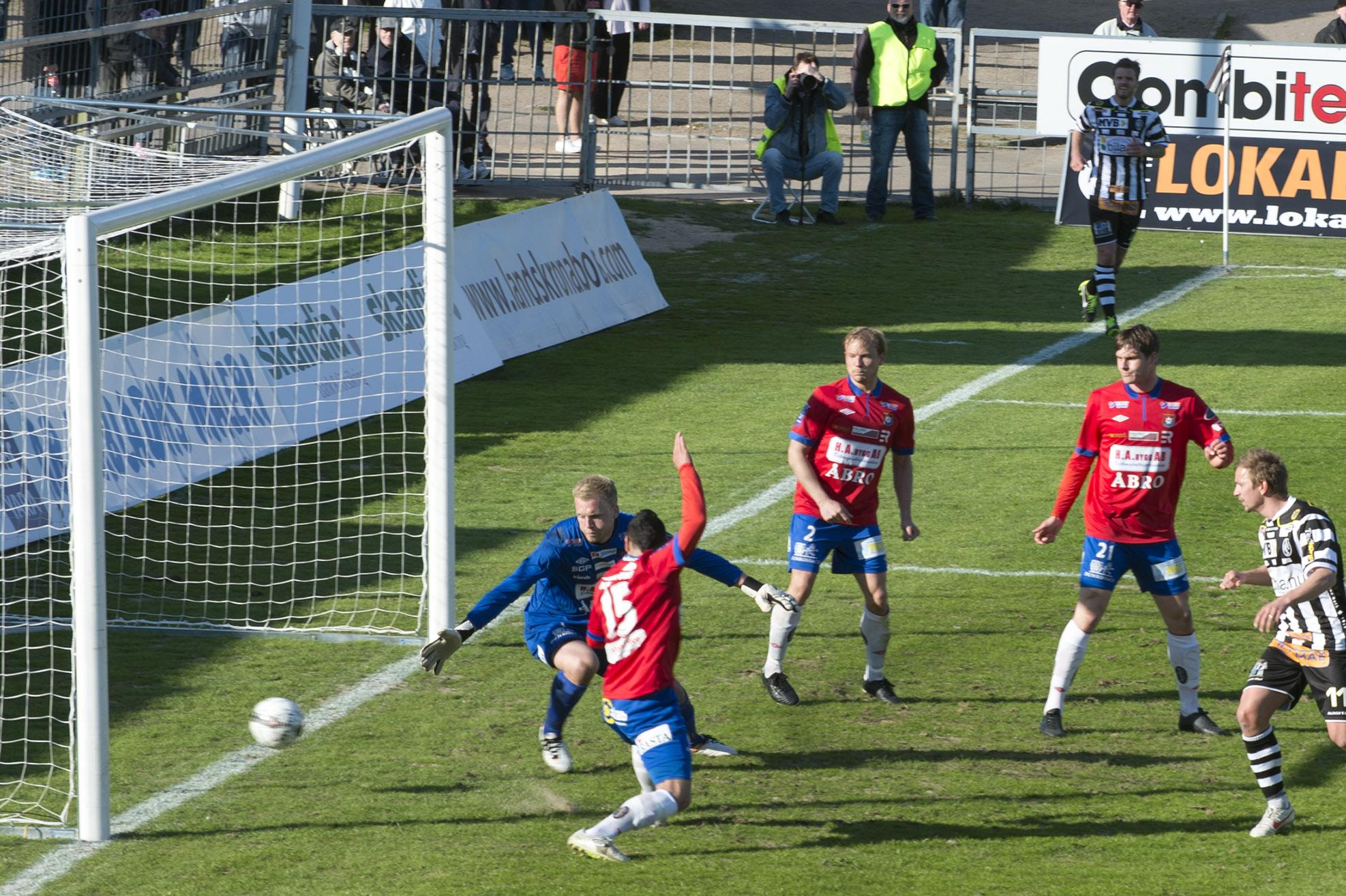 BoIS 1-3 mål