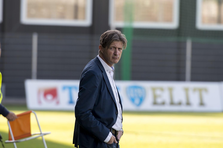 Nya tränaren Patrik Johansson