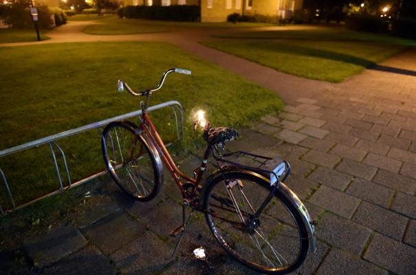 Brand i cykel