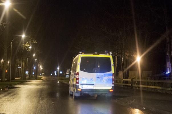 Polisinsats på Pilgården, Landskrona