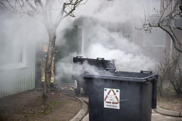 Brand i sophus Landskrona