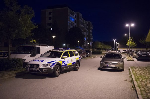 Skottlossning på Koppargården i Landskrona