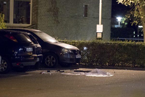Flera bilar skadades av en detionation på pilängsrundeln
