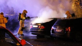 Bilbrand på Pilåkern