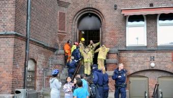 Brand på Dammhagskolan