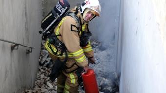 Brand vid Pilängskolan