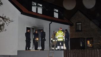 Brandattentat mot villa