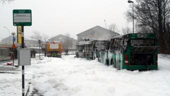 Bussbrand på Ättekulla