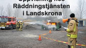 Uppvisning hos Räddningstjänsten i Landskrona
