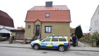 Polistillslag mot villa – Bombgrupp på plats