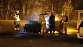 Bilbrand på Koppargården