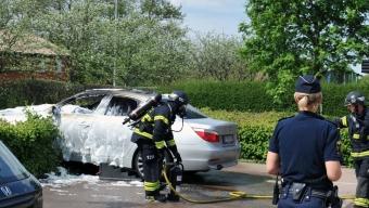 Bilbrand i Ödåkra
