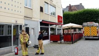 En skadad efter brand i kastrull