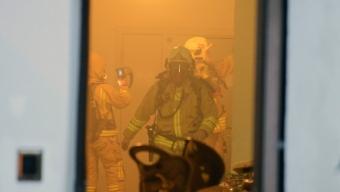 Rökfylld källare på Eriksgatan