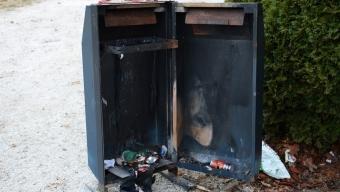Brand utanför Emiliaskolan