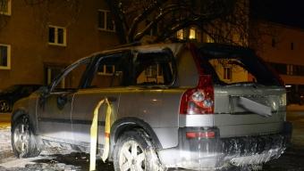 Bilbrand på Gjörloffsgatan