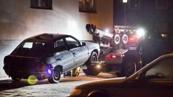 Flyktbil funnen efter guldrån i Helsingborg