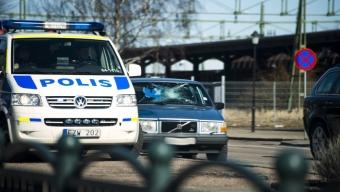 Polisjakt slutade i Landskrona