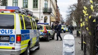 Supporterbråk i Landskrona