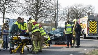 Flera skadade i trafikolycka