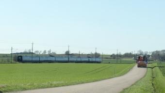 Olycka på tågspåret vid Glumslöv
