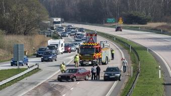 Trafikolycka vid Lundåkra