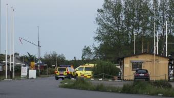 Kitesurfare i nöd i Lundåkrabukten