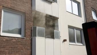 Lägenhetsbrand på Bredgatan