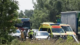 Flera fordon i kollision