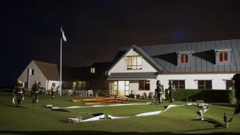 Brand på Rya Golfklubb