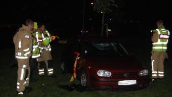 Smitning efter trafikolycka